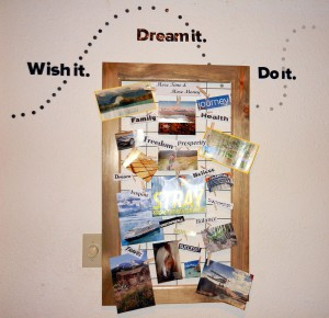 Decorative Vision Board