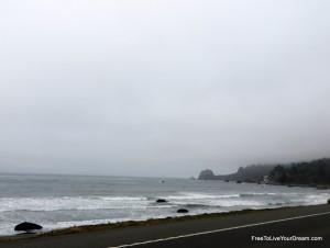 ocean view on hwy 101