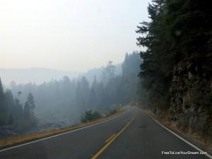 smokey drive along hwy 199