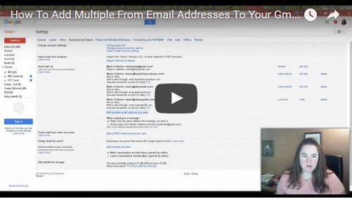 How To Add Multiple From Email Addresses To Your Gmail Account